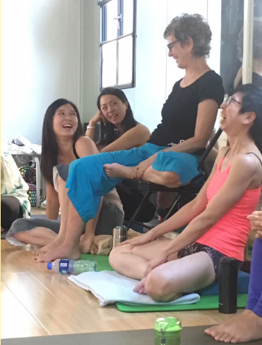Teaching Ayurveda and Anusara Yoga in China